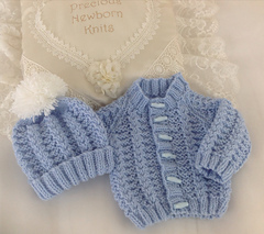 Ravelry 54 Babies Cosy Cardigan Set Pattern By Jacqueline Harrison