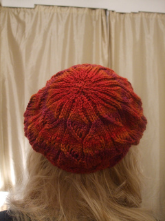 Ravelry: Butterfly Sunset Beret pattern by Natalie Thouret Brock