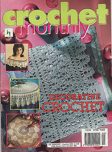 Ravelry Crochet Monthly Uk 309us 106 Patterns