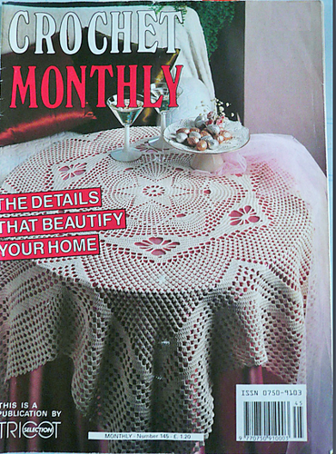 Ravelry Crochet Monthly Uk 55us 145 Patterns