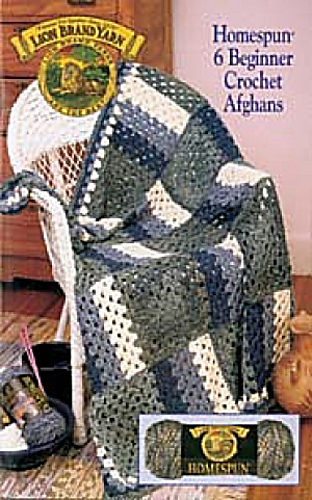 Ravelry Lion Brand Yarn 79901 Homespun 6 Beginner Crochet