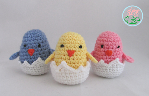 Ravelry Amigurumi Hatching Easter Chicks Pattern By Tamara Lazaridou