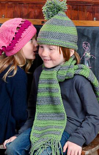 Ravelry Hat And Scarf For Boy Pattern By Tracie Barrett