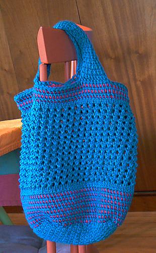 Ravelry: TC/Knit Market Bag pattern by Tuni C. Weaver