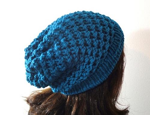 Ravelry Loom Knit Spiral Slouchy Hat Pattern By Mireia Marcet