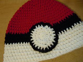 Ravelry  Pokemon - Crochet Pokeball Beanie pattern by Sam Loveless b9febc9fada8