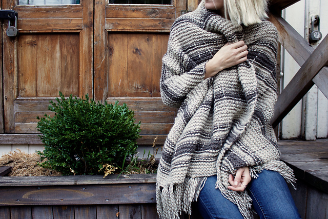 campfire blanket scarf