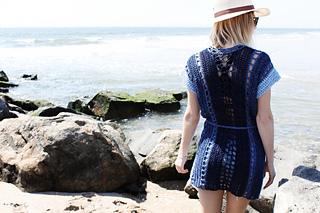 7a8c3e0dbd Ravelry  Arverne Beach Robe pattern by Alexandra Tavel