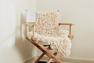 Sheepskin Chair Throw By Alexandra Tavel. © Alexandra Tavel