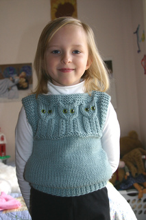 Ravelry Quick To Knit Animal Vests Pattern By Barbara Boulton