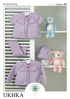 7fa621d41 Ravelry  UKHKA 85 pattern by UK Hand Knitting Association