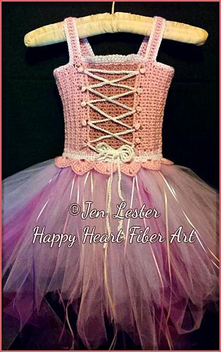 Ravelry Fairytale Princess Costume Tutu Dress Pattern By Happy