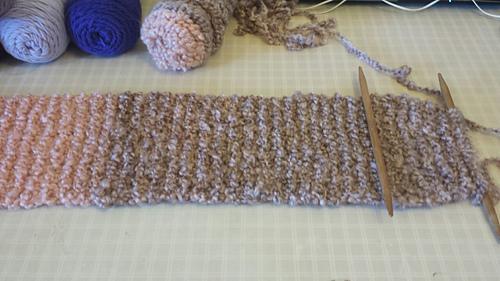 Ravelry Easy Knit Garter Stitch Scarf Pattern By Happy Heart Fiber Art