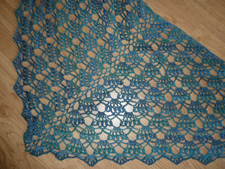 Ravelry Elegant Shawl Pattern By Lion Brand Yarn