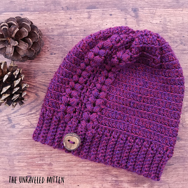 cd931d46ea2 Ravelry  Fly Away Beanie pattern by Heather J Anderson