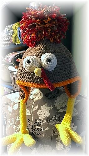 Ravelry Birdbrain Turkey Trot Hat Pattern By Care Sharpin