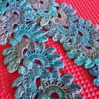 Lotus Flower Lace Scarf Pattern By Miss Nancy Flintings Ravelry