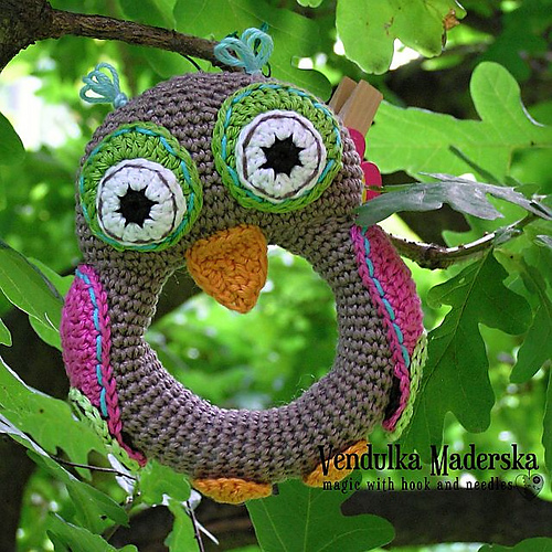 hoo princess owl ravelry owl rattle pattern by vendula maderska