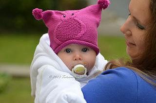 Ravelry  Owl Baby Hat pattern by Tatsiana Matsiuk 452bad1b1cb2