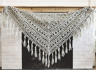 Chunky Triangle Shawl Pattern By Vickie Howell Ravelry