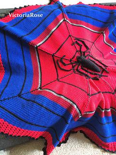 Ravelry Crochet Spiderman Blanket Pattern By Nicole