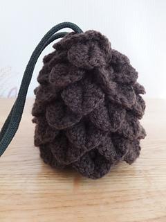 ravelry dragon egg dice bag pattern by cindy de vries