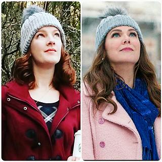7c07b1b60b6b0f Ravelry: VncntsAngel's Gilmore Girls Inspired Knit Pom Pom Hat