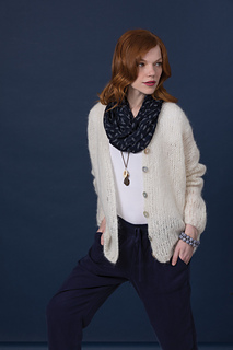 Ravelry 19 Mohair Cardigan Pattern By Jacqueline Van Dillen