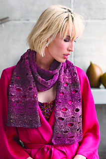 387f23bd9 Ravelry   19 Buttonhole Scarf pattern by Andrea Babb