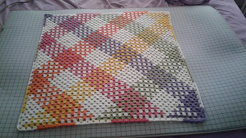 Ravelry Granny Stitch Planned Pooling Blanket Pattern By