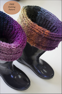 Ravelry: Boot Toppers pattern by Knit Traders