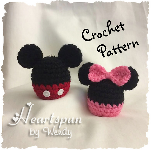 Ravelry Mickey And Minnie Mouse Eos Lip Balm Holder Pattern By