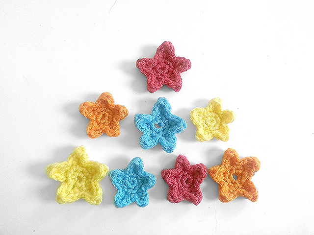 Ravelry Crochet Star Appliques Pattern By Whispered Whimsy
