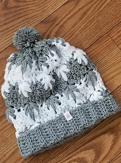 Ravelry Frozen Winter Bun Hat Pattern By Wilma Westenberg