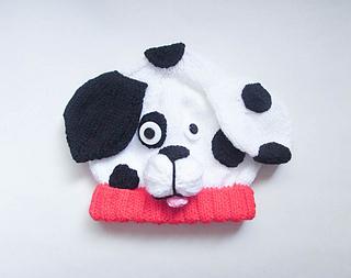 f40dd3dac4fee Ravelry  Dalmatian Dog Animal Baby Hat pattern by Wistfully Woolen