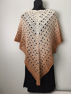 Lunar Crossings Shawl pattern by Kim Guzman