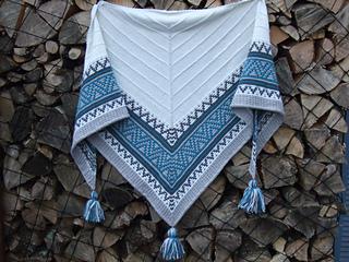 Ravelry Boho Style Mosaic Shawl Pattern By Irene Lin