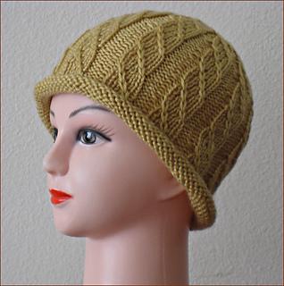 c642f0c5eb1 Ravelry  Traveling Stitch Hat (Chemo) pattern by Rita Marie