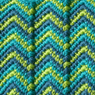 Ravelry 100 Colorful Ripple Stitches To Crochet Patterns