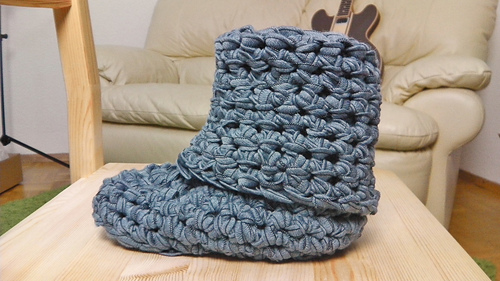 Ravelry Boots Hausschuhe сапоги Pattern By Julia Marquardt