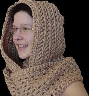 Ravelry Scoodie Kapuzenschal шарф с капюшоном Pattern By Julia