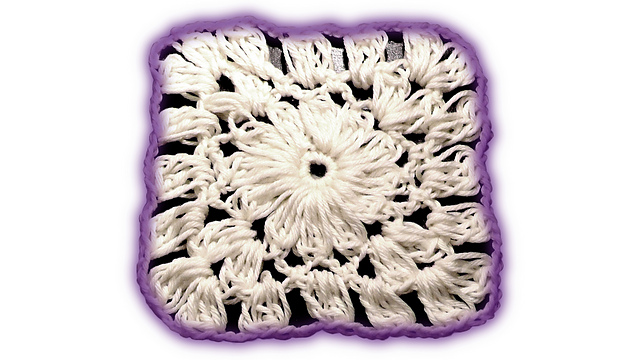Ravelry Wooly Flower Granny Square Pattern By Julia Marquardt