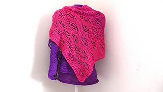 Ravelry Surfer Shawl Wellenreiter Tuch Pattern By Julia Marquardt