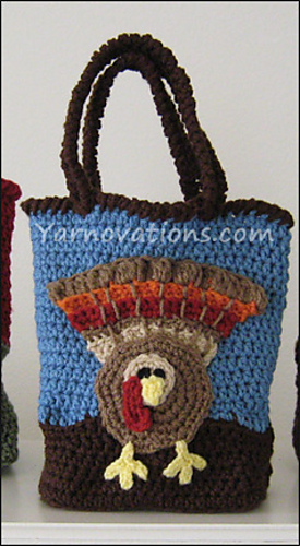 Ravelry holiday gift bags for thanksgiving and christmas