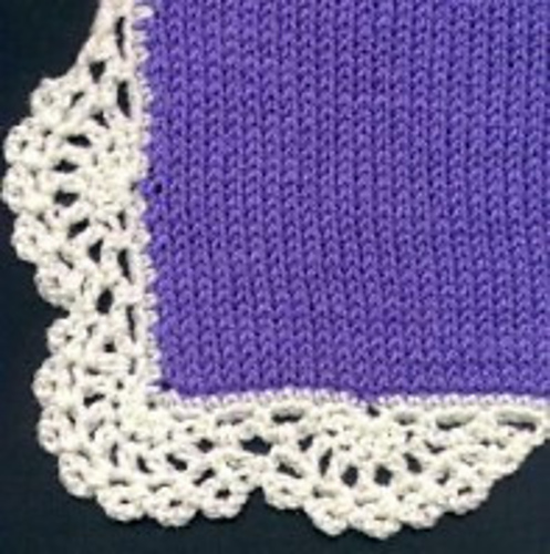 Ravelry Scalloped Crochet Edging Pattern By Heidi Stepp