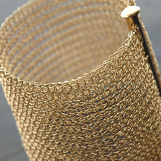 Ravelry Step By Step Tutorial Wire Crochet Cuff