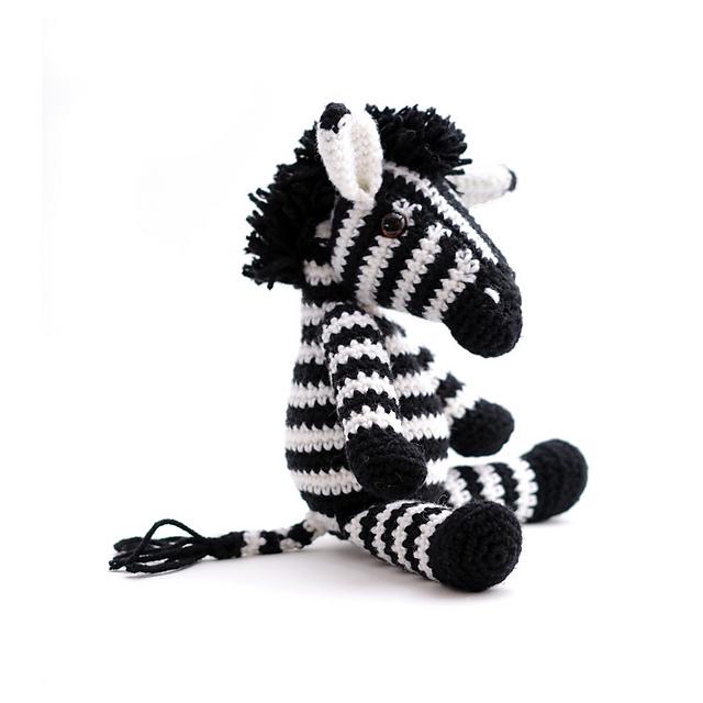 Ravelry farah the zebra pattern by vera yukiyarndesigns dt1010fo