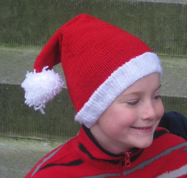 Ravelry: Nate\'s Santa Hat pattern by Tonya Rose
