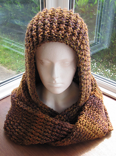 Ravelry Chunky Ribbed Scoodie Pattern By Zoe Deterding