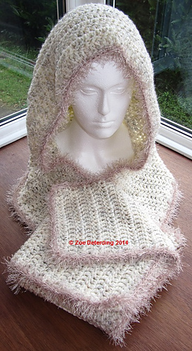 Ravelry: Easy Rounded Scoodie pattern by Zoe Deterding